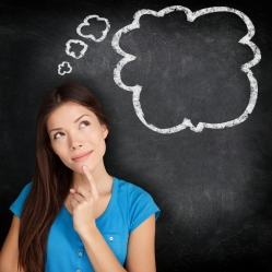 bigstock-Woman-thinking-blackboard-conc-39259996